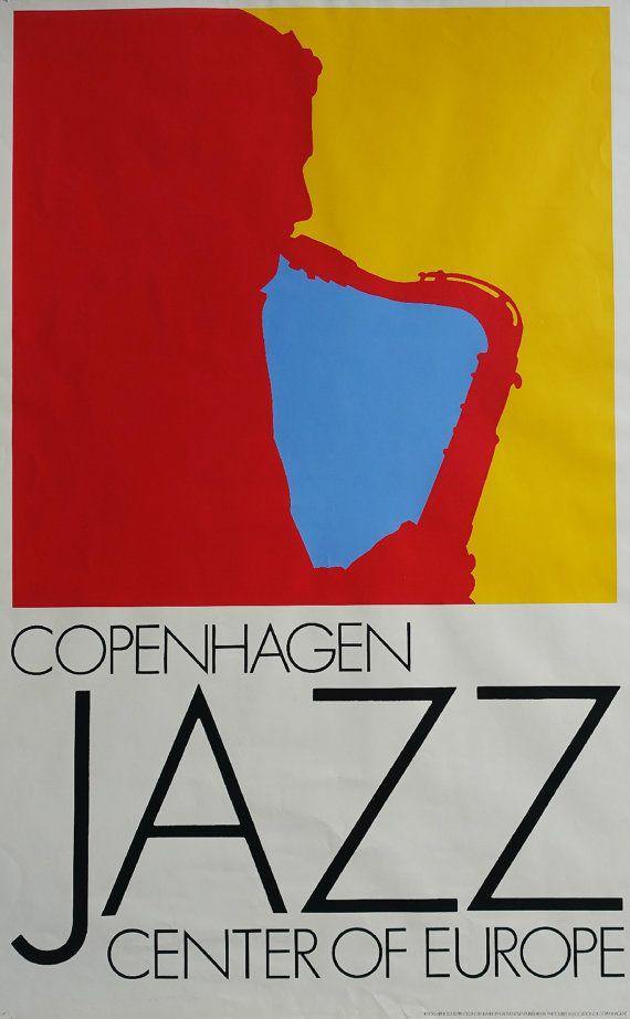 1981 Copenhagen Jazz by Arnoldi  Original by OutofCopenhagen
