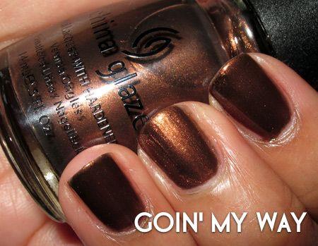 China Glaze Goin' My Way | Nail It ...