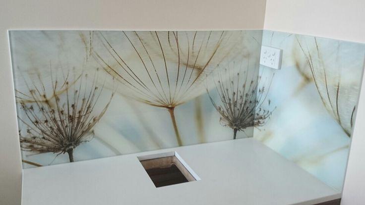 Custom Printed Glass Splashback - Seein
