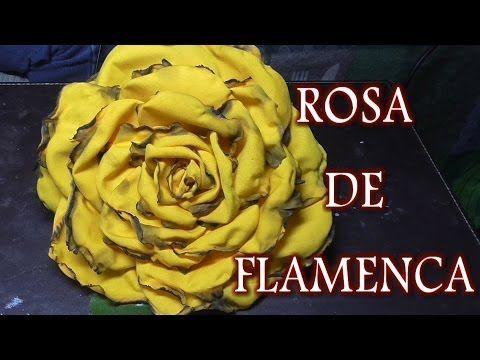 DIY ROSA AMARILLA Y NEGRA - YouTube