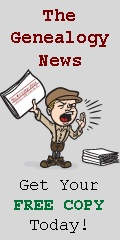 Keep up-to-date with the latest releases from Genealogy Today, along with news from a variety of other sources when you Sign Up for this FREE service. (Available in daily or weekly editions)