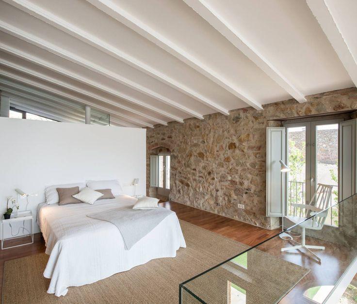 Rehabilitación e interiorismo de una casa de pueblo en la calle Samària de Pals. Baix Empordà – Gloria Duran – Estudio de Arquitectura