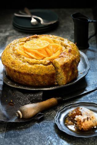 Satsuma and Poppyseed Cake Recipe with Honey - Viva