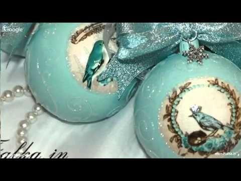 "Вебинар ""Елочный шар"" от Анны Мильто - YouTube"