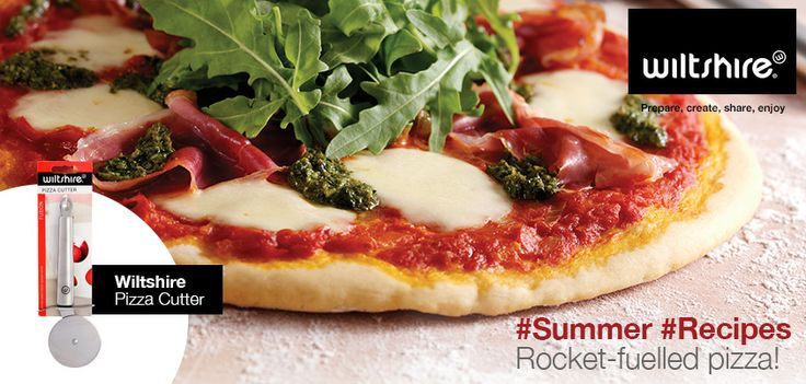 DIY this weekend and whip up your own parma ham, rocket and pesto pizza, baked in our Easybake Springform cake pan.   Ingredients and method here: www.facebook.com/wiltshiresa