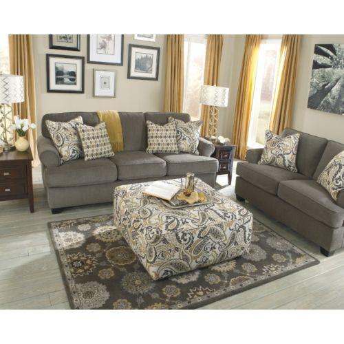 Marvel Sofa  HOM Furniture Love this living room  HOME
