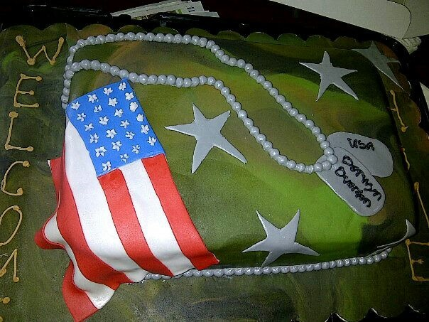 Welcome Home Military Cake By Diva Lish Diva Lish Cakes Pinterest