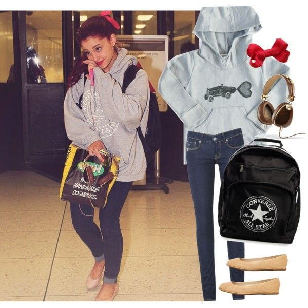 """""""Dress Like: Ariana Grande"""" by inspired-all-the-time on Polyvore"""