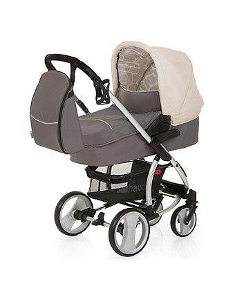 Hauck Malibu XL AIO Travel System - Rock | prams & pushchairs | Mothercare