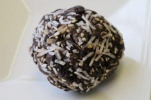Energy balls from Whitewater