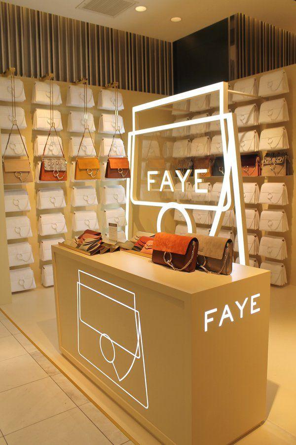 """ISETAN,Shinjuku,Tokyo, Japan, """"FAYE-CHLOE Pop-Up Boutique"""", pinned by Ton van der Veer"""