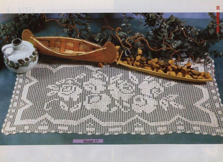 Kira scheme crochet: Scheme crochet no. 945