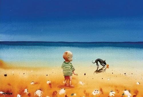 Helen Norton - Boy and Dog