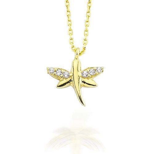 Altın Kolye - 14 Ayar Glorria Yusufçuk Altın Kolye - CN0012