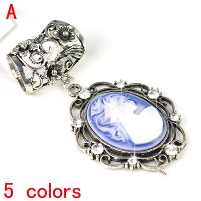 High Quality Jewellery Scarf Pendant Set DIY Necklace Scarf AccessorIes, PT-632A