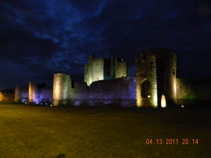 "Trim Castle, Co. Meath. They filmed the outdoor scenes from the Mel Gibson movie ""Braveheart"" here."