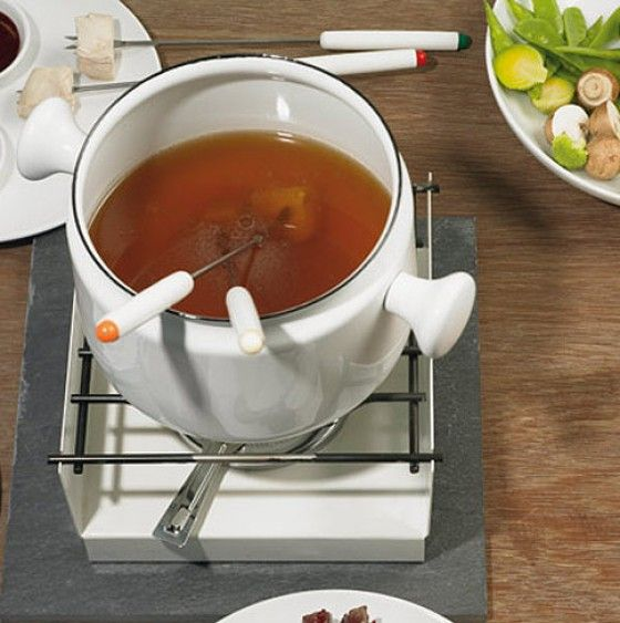 Gemüsebrühe fürs Fleischfondue - Fonduerezepte - 4 - [ESSEN & TRINKEN]