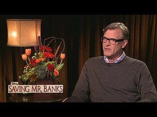 "Saving Mr. Banks: Exclusive: John Lee Hancock -- We go one-on-one with director John Lee Hancock to talk about ""Saving Mr. Banks"". -- http://wtch.it/G3kF8"