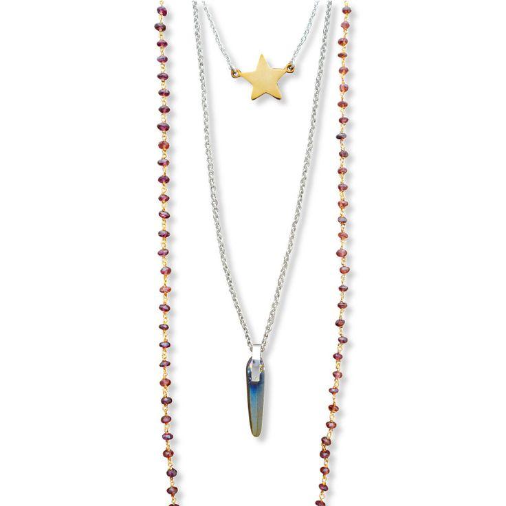Boho Chic/  Multilayrered Necklace/ Jewelietta