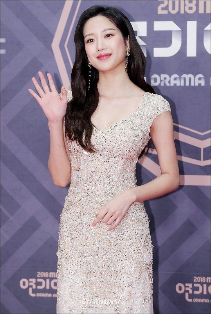 PIC] Moon Ga Young di red carpet '2018 MBC Drama Awards