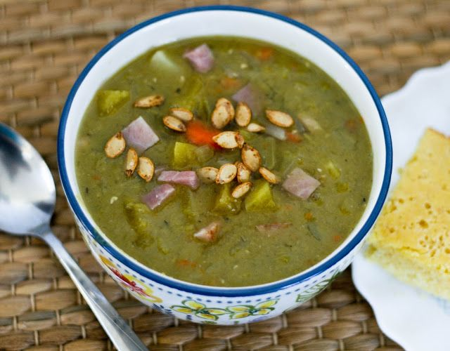 Coconut & Lime // recipes by Rachel Rappaport: Split Pea Soup with Winter Squash and Paprika Toas...