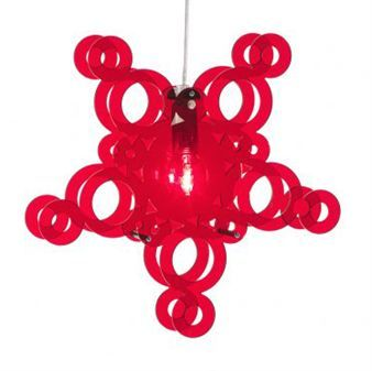 The lovely newcomer Crystal from Bsweden is the lamp that is based on circles -