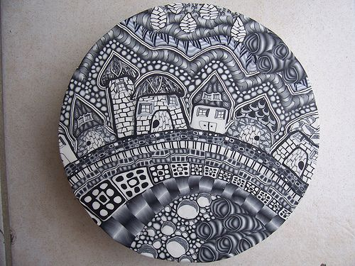 Flower Zentangles | The Daily Polymer Arts Blog » What's a Zentangle?