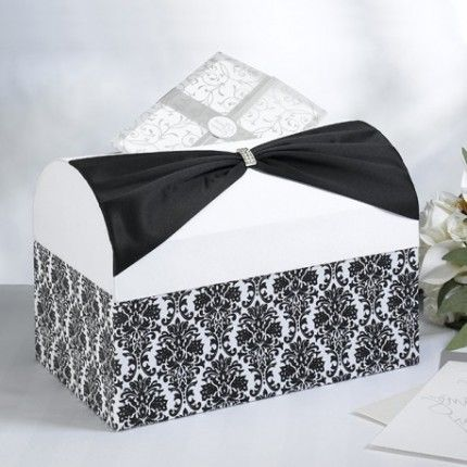 l 39 urne coffre damas place du mariage mariage ann es folles gatsby theme wedding. Black Bedroom Furniture Sets. Home Design Ideas