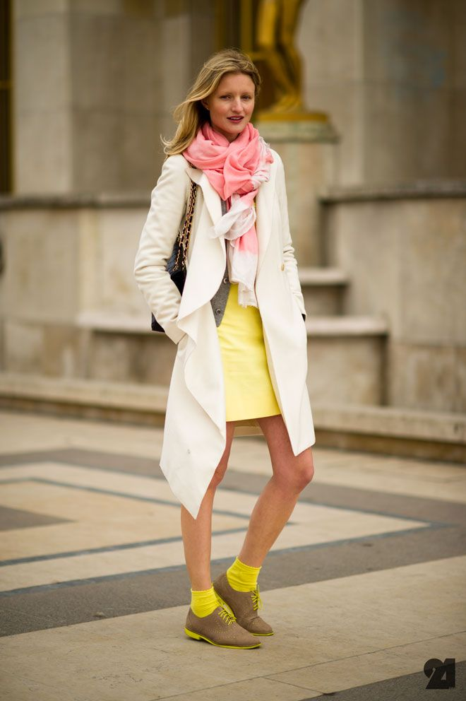 neon: Street Fashion, Inspiration, Chic, Paris Street Styles, Pretty Pastel, Bright Colors