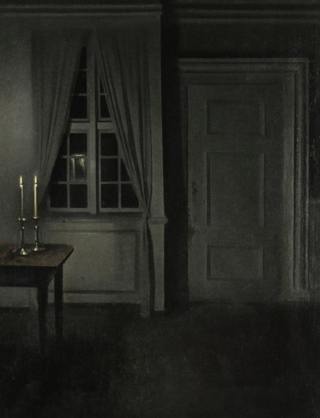 Danish Master Vilhelm Hammershoi. Photo from Sotheby's.