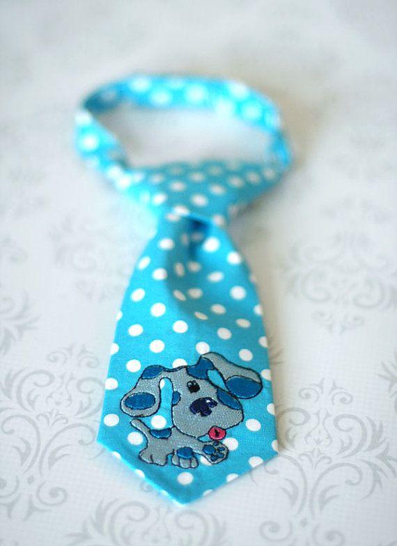 Blue Blues Clues Tie | freshsqueezedbaby