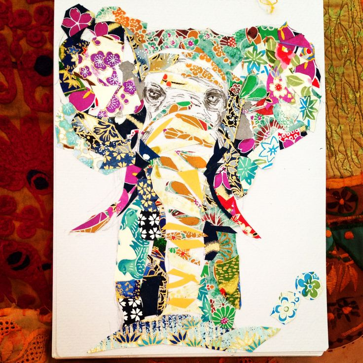 Patchwork elephant xx