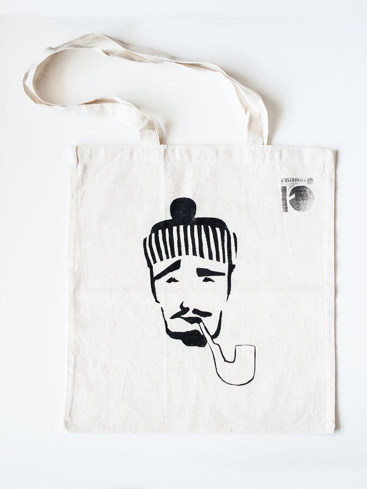 tote bag, cotton, hand made, grapihc