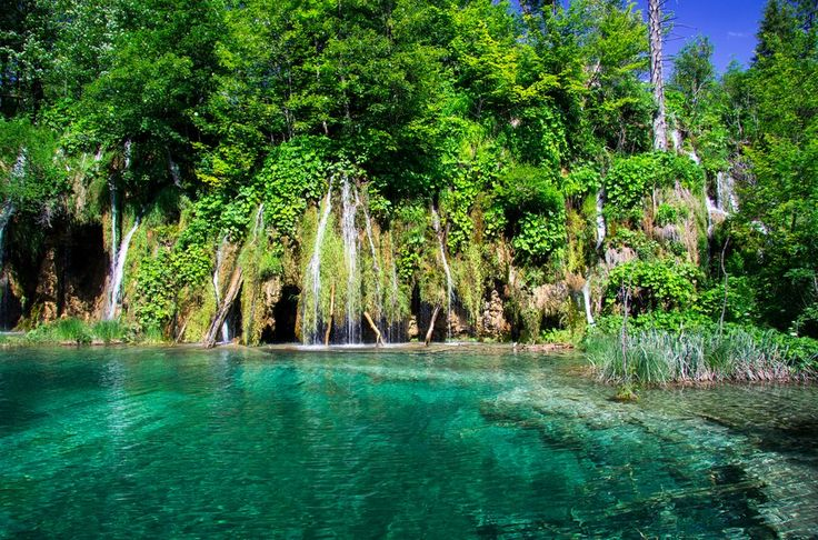 The picture-perfect waterfalls in Plitvice Lakes National Park, Croatia. | 17 Of The Most Beautiful Travel Destinations Of 2014