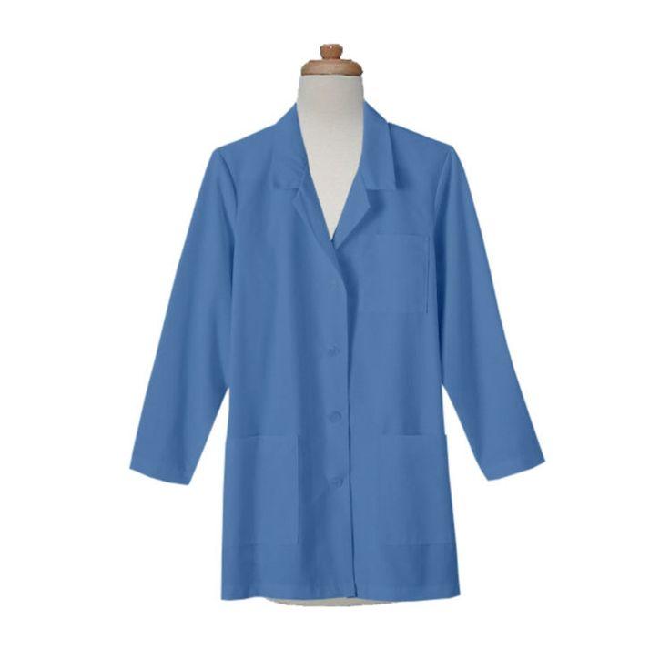 Womens Three Pocket Short Lab Coat | Cheap Lab coat