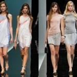 """Giorgio Armani (Piacenza, 11 juli 1934) is een bekend Italiaans modeontwerper. Armani begon in de jaren '60 zijn loopbaan bij Nino Cerruti, in 1970 opende hij zijn eerste eigen bedrijf. De gestileerde adelaar werd zijn handelsmerk. In 1980 volgde er een vestiging in de Verenigde Staten. Hij is vooral bekend van zijn modemerken """"Giorgio Armani"""" en """"Emporio Armani"""". Zijn imperium bestaat oa uit kleding, parfums, juwelen, horloges ect. Ik vind dat Armani altijd tijdloos elegante mode doet…"""