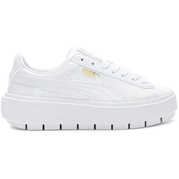 new product 55fb3 4e4f1 Puma Basket Platform Trace Sneaker ($90) ❤ liked on ...