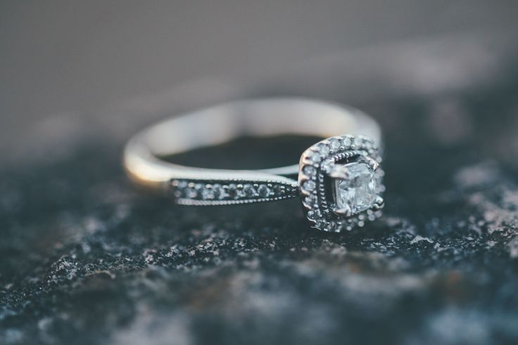 Engagement Ring. Macro Lens. Engagement shoot at Shearwater Lake.  Charlotte & Will - Blog Matt Fox Photography // Warminster, Crockerton
