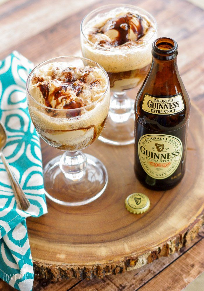 "<p>Layered Irish stout and coffee ice cream play well together. Rich dark porter poured over quality ice cream results in a frothy deliciousness. Like you're sipping a frozen latte only better. <a href=""https://www.homeandplate.com/blog/2016/irish-stout-ice-cream-float"" target=""_blank"" rel=""noopener noreferrer"">See the recipe</a></p>"