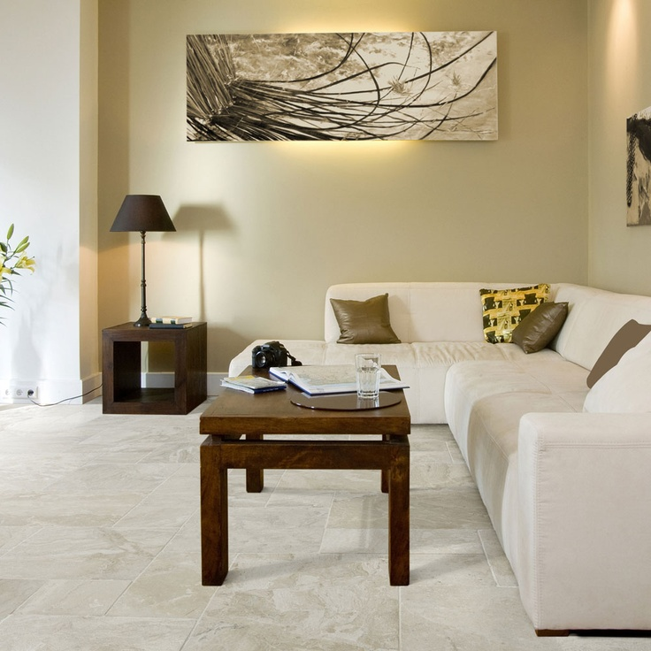 This Opus pattern Vanilla Cream Tumbled Marble has Beautiful beige and creams that flow togther in this stone that will bring natural beauty to the heart of any home. This ageless marble tile with its soft tumbled finish is one of the most popular stones in our range. Also available in a large format 61x40.6cm. It is suitable for use in Bathrooms, Conservatories and Kitchens.