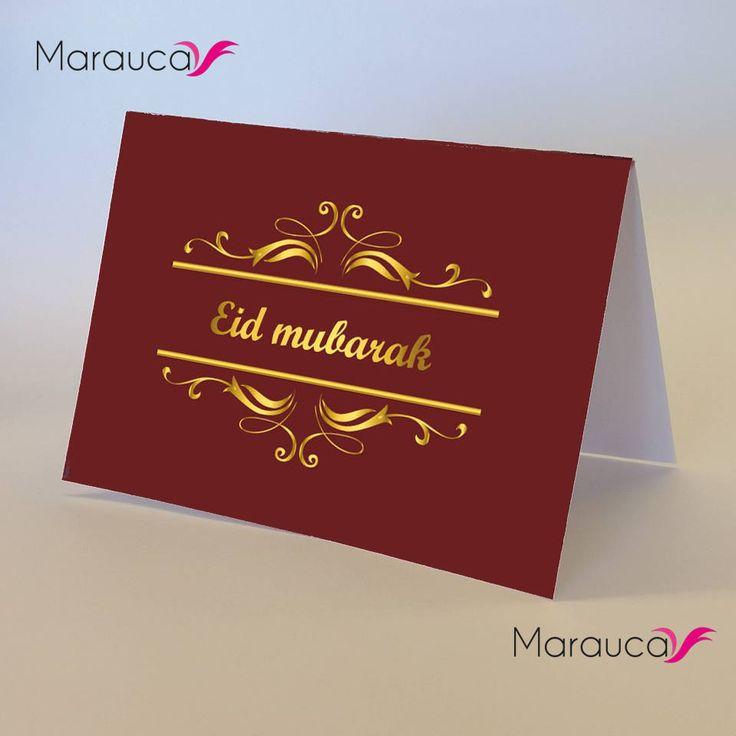 Téléchargement immédiat Imprimable, Eid mubarak, carte Aïd, cartes de voeux, 3,5 x 5po fichier numérique, ramadan doré vintage couleur or de la boutique marauca sur Etsy