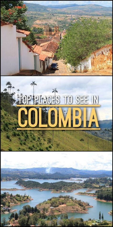 Are you planning a trip to Colombia? From Cartagena to Valle de Cocora, check out our list are top places to see in Colombia.: