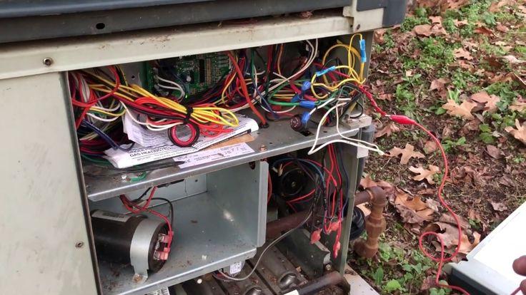 Trane Gas Pack no heat call XL16c bug sabotage YouTube
