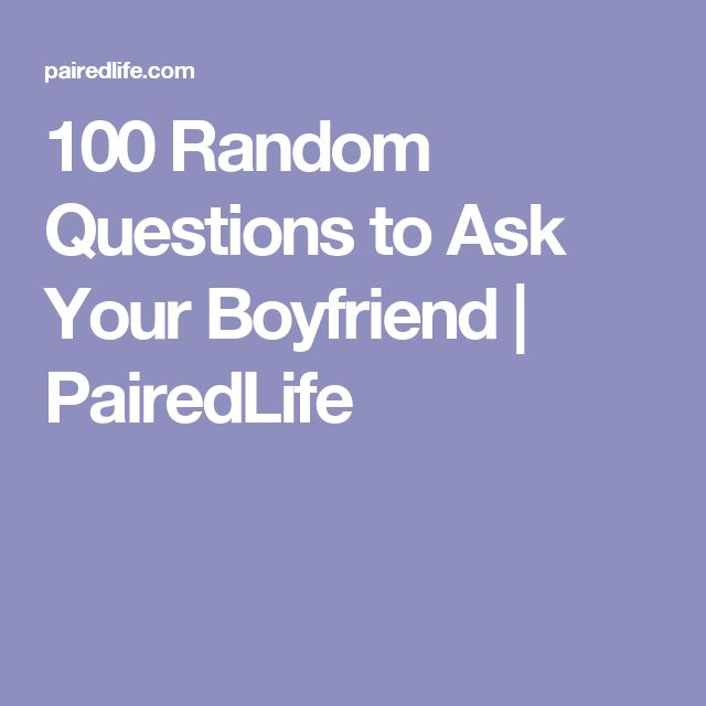 .Blo-No Homo. • 100 questions you should ask to get to ...