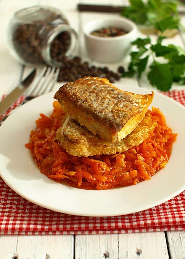 Ryba po grecku czyli mocno warzywami i przyprawami przesycona
