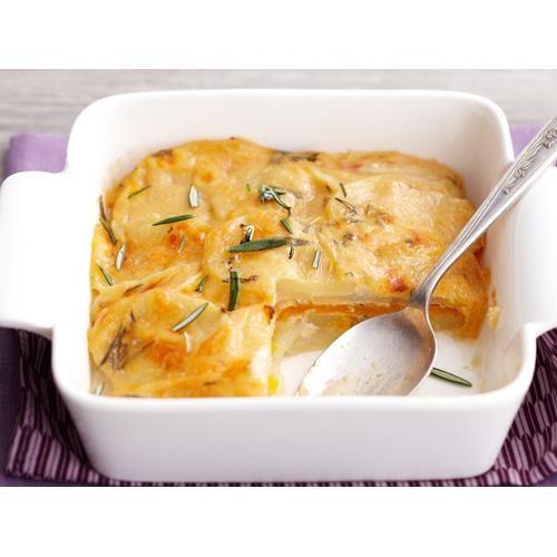 Creamy rosemary potato and pumpkin bake recipe - By Woman's Day