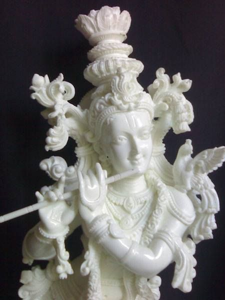 17 Best Lord Krishna Marble Statues Images On Pinterest