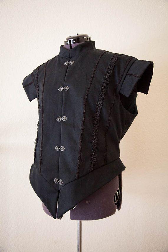 Ready to Ship Men's Renaissance Doublet, XXl Men's Renaissance Jerkin, Men's Renaissance Vest on Etsy, $115.00