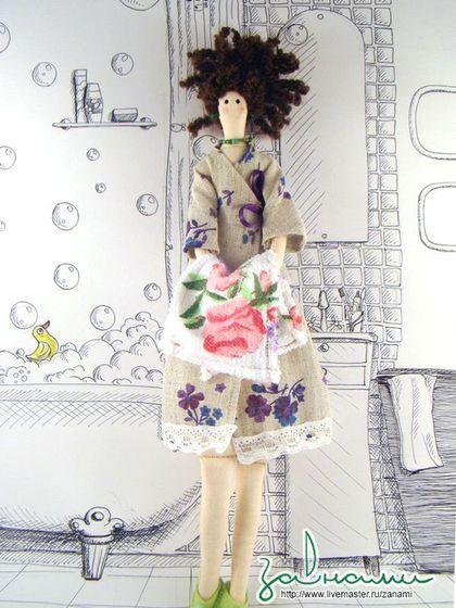 Казакова Наталья. Текстильная кукла `Кристина`
