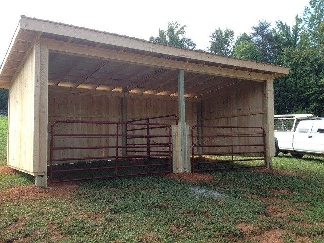 Inexpensive mini horse shelters barns easy diy and for Inexpensive barns